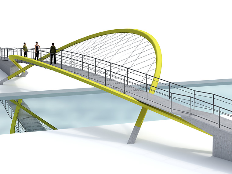 DMA Pennington Road Footbridge 01